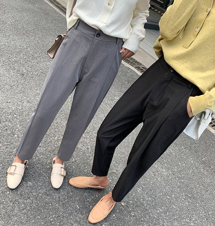 The Best Spring And Autumn Harem Pants Female Nine Points Loose Casual Pants Online - Source Silk