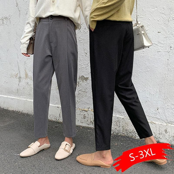 The Best Spring And Autumn Harem Pants Female Nine Points Loose Casual Pants Online - Hplify