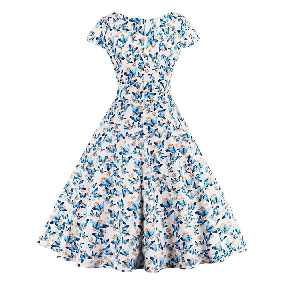 The Best Vrouwen Retro Jurk Audrey Hepburn 50s Retro Swing Rockabilly Jurk Online - Source Silk
