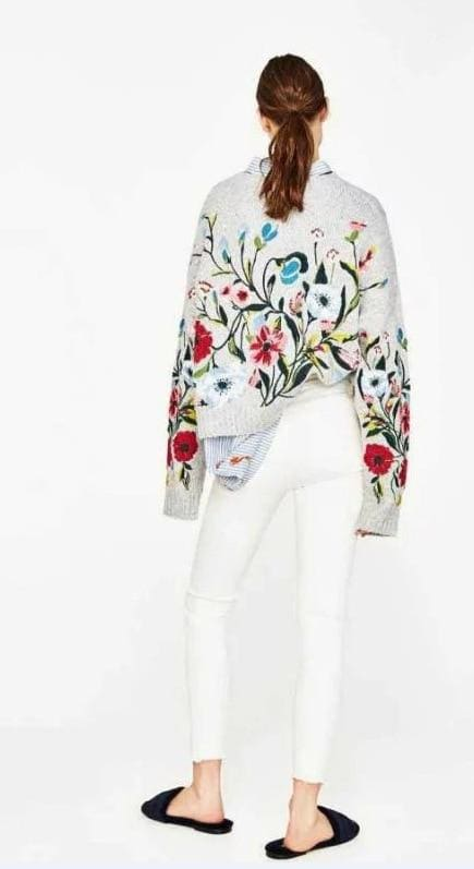 Buy Cheap Winter Cashmere Women Sweaters and Pullovers Embroidery  Ladies Tops Online - Hplify