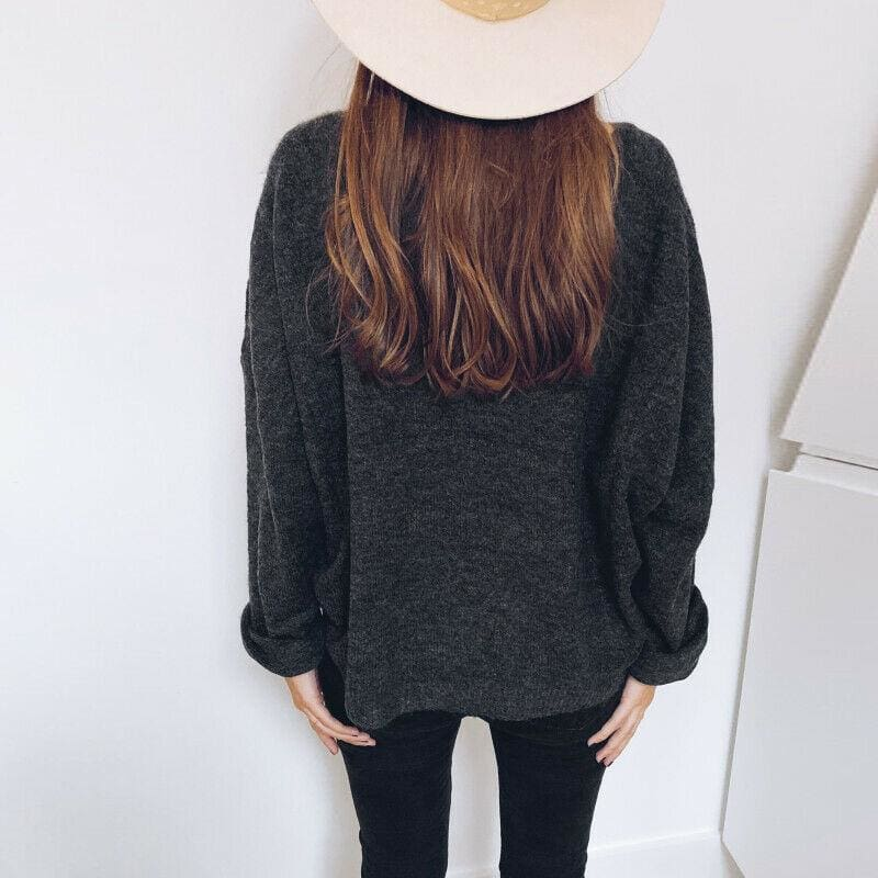 The Best Women Casual Hoodie Shirt Ladies Loose Long Sleeve Pullover Blouse Basic Tops Online - Hplify