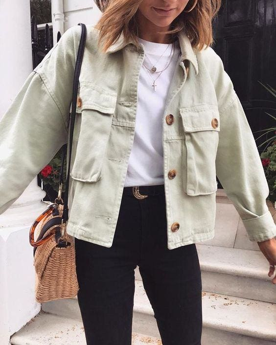 The Best Women Fashion Coats Button pocket design loose Irregular punk outerwear Online - Hplify