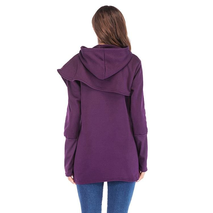 The Best Women Hoodies Sweatshirts Long Sleeve Pocket Pullover Hoodie Female Online - Hplify