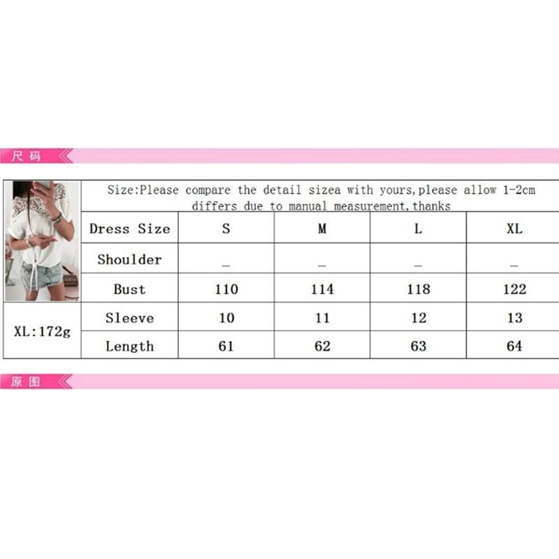 The Best Women Ladies Batwing Short Sleeve Lace Hollow Baggy Casual T-Shirt Tops Online - Source Silk