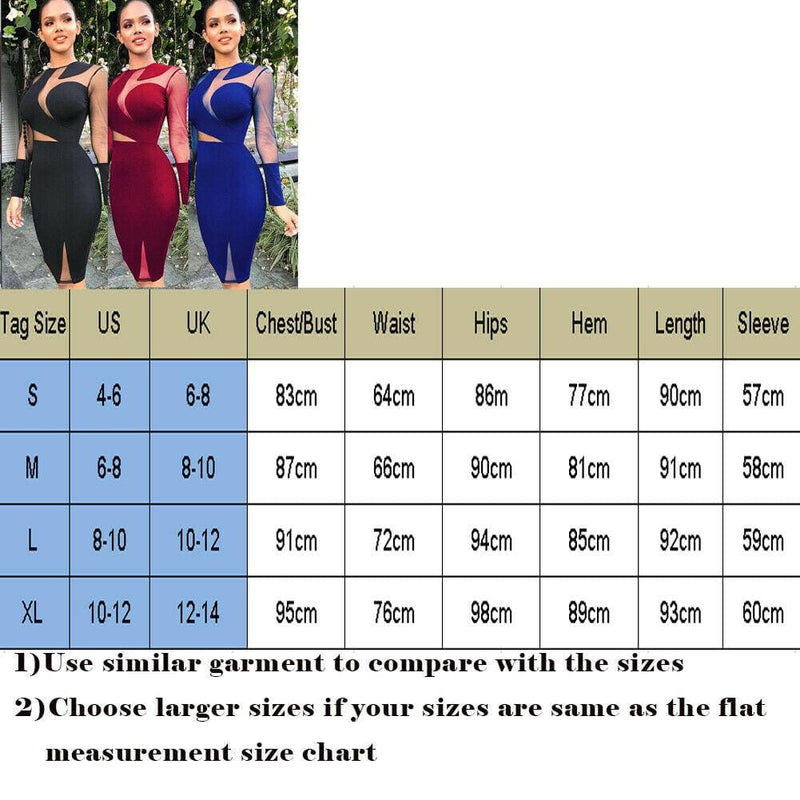 The Best Women Lady Long Sleeve Bandage Bodycon Summer Casual Solid Party Cocktail Club Short Mini Dress Online - Hplify