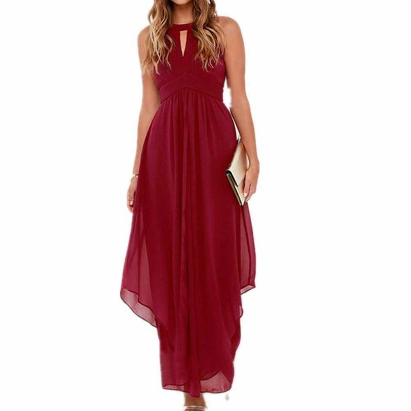 The Best Women Long Chiffon Dress New Summer Beach Dresses Online - Source Silk