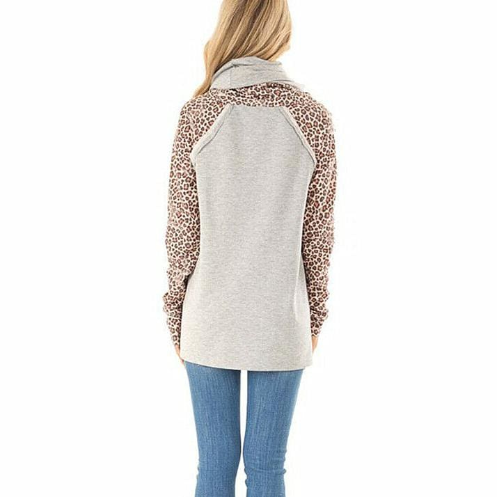 The Best Women Long Sleeve Pullover Jumper Lady Autumn Winter Warm Sweatshirt Tunic Tops Casual Blouse Shirt Online - Hplify