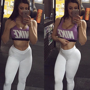 Women Sports Gym Exercise Activewear Bottoms Leggings Skinny Long Pants - Hplify