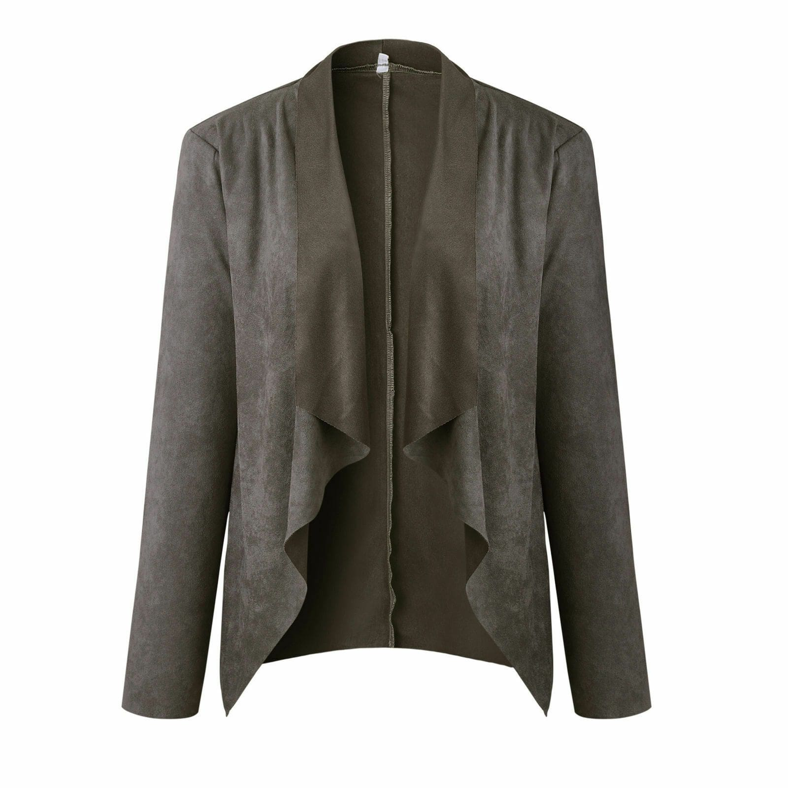 The Best Women Spring Autumn Cardigan OL Office Ladies Fashion Simple Coat Jacket Online - Source Silk