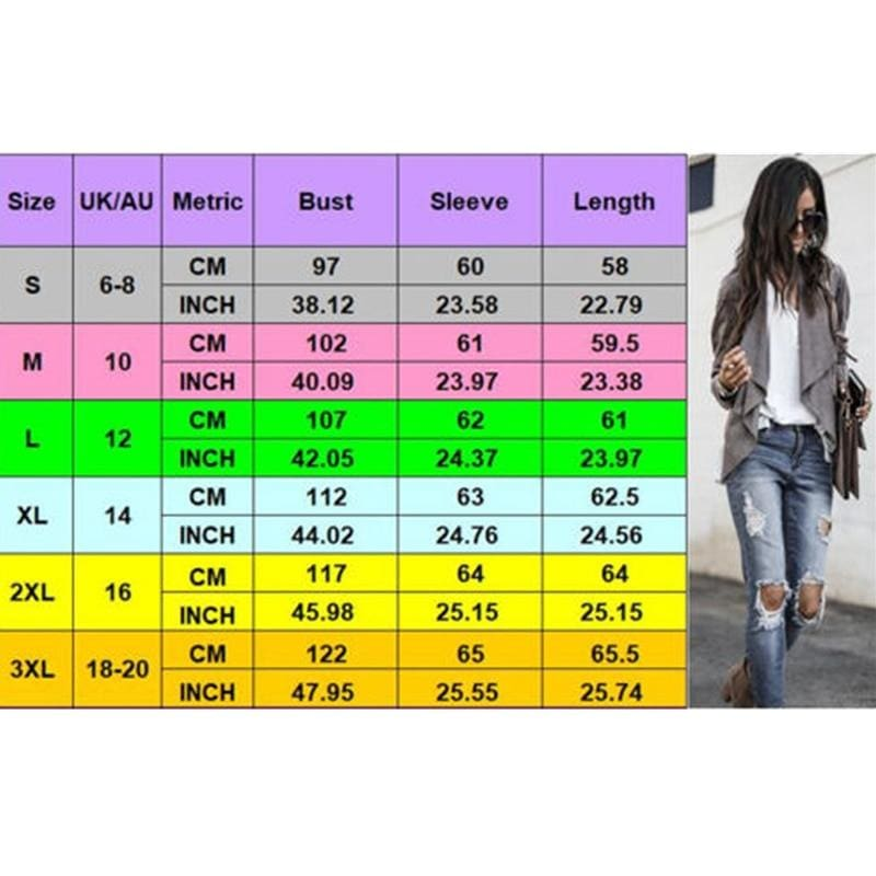 The Best Women Spring Autumn Cardigan OL Office Ladies Fashion Simple Coat Jacket Online - Hplify