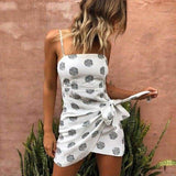 The Best Women Summer Dress Sling Strap Ladies Vintage Casual Mini Beach Dress Online - Source Silk
