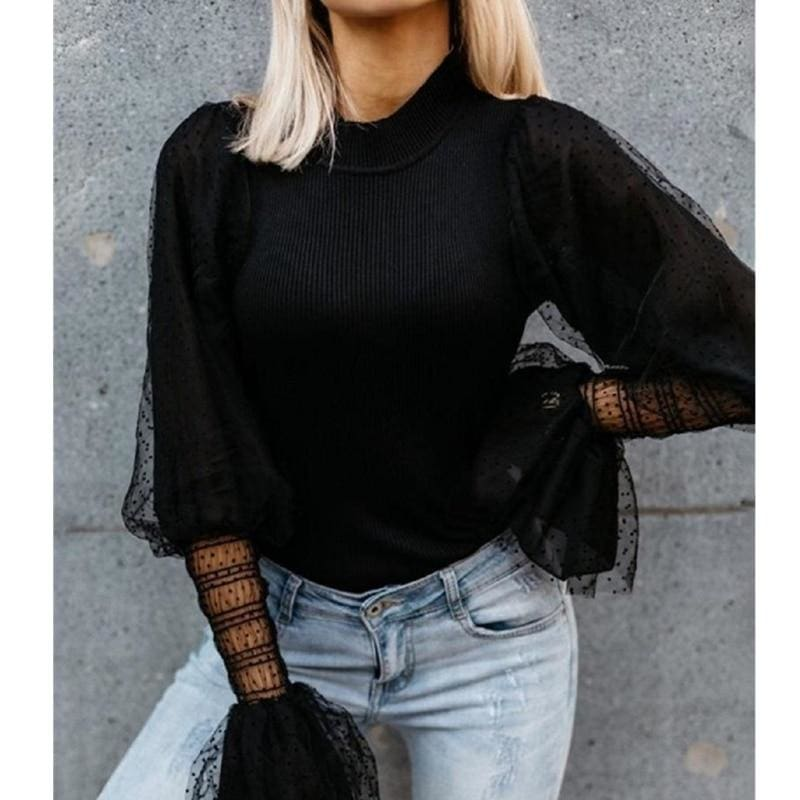 The Best Women Tops Blouses Long Sleeve OL Shirt Online - Source Silk