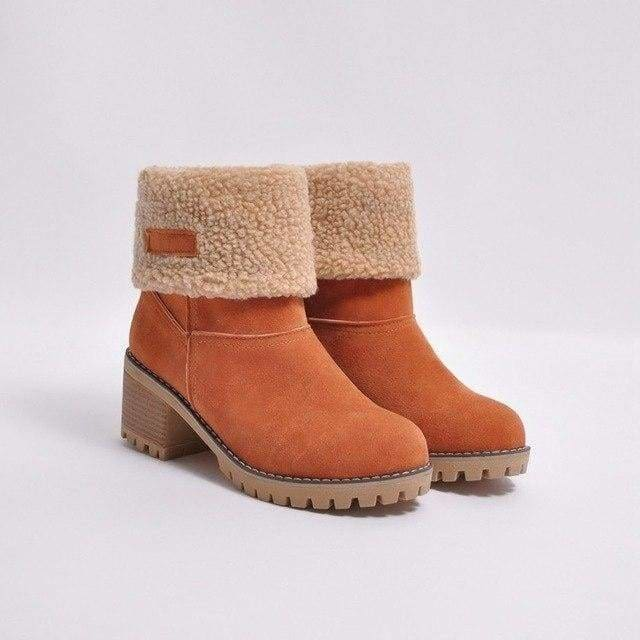 Womens Boots Snow Boots Short Bootie Shoes - 1 / 5 - Womens Shoes