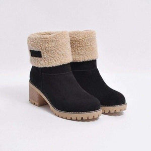 Womens Boots Snow Boots Short Bootie Shoes - 2 / 5 - Womens Shoes