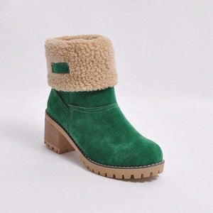 Womens Boots Snow Boots Short Bootie Shoes - 3 / 5 - Womens Shoes