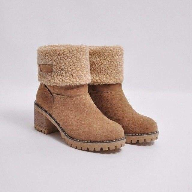 Womens Boots Snow Boots Short Bootie Shoes - 5 / 5 - Womens Shoes