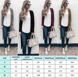 The Best Women's Knitted Sweater Cardigans Knit Autumn Ladies Stretch Long Coats Outwear Tops Jacket Jumper Coat Online - Source Silk