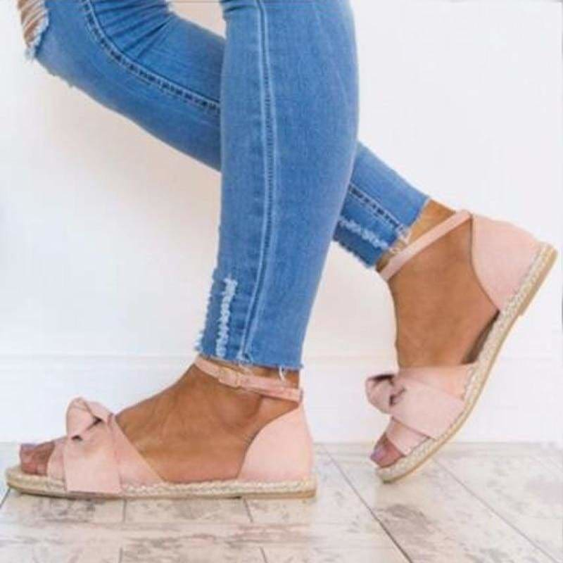 The Best Womens Sandals Rome Flats Sandals Peep Toe Low Heels Sandalias Online - Source Silk