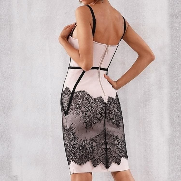 The Best Women's Sling Lace Bandage Dress Online - Hplify