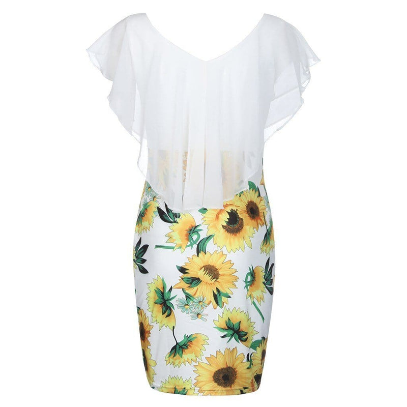 The Best Womens summer dress fashion Sleeveless O-Neck women Vintage dresses Online - Source Silk