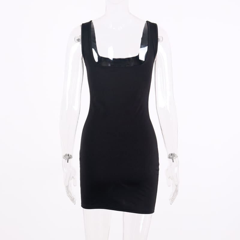 Women Summer Sleeveless Bodycon Short Mini Dress Party Evening Dress