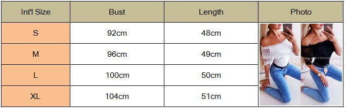 2019 Fashion New Women Off Shoulder Slim Fit Short Sleeve Lace Tops Ladies Casual Summer Holiday Party Tops