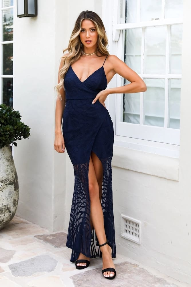 Elegant Women Ladies Lace Evening Party Ball Prom Gown Formal Cocktail Wedding Summer Beach Casual Long Dress