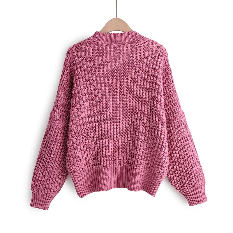 Cardigan Sweater Women Clothes knitted fall Sweaters