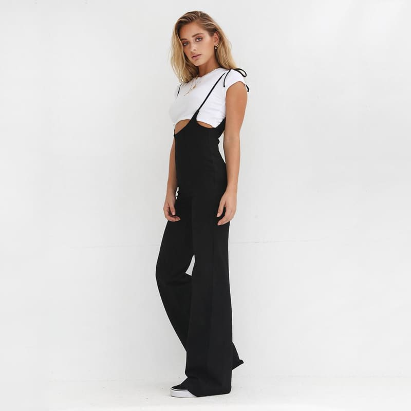 Fashion Bodycon Backless Solid Jumpsuits Women Sexy Party Clubwear Jumpsuits