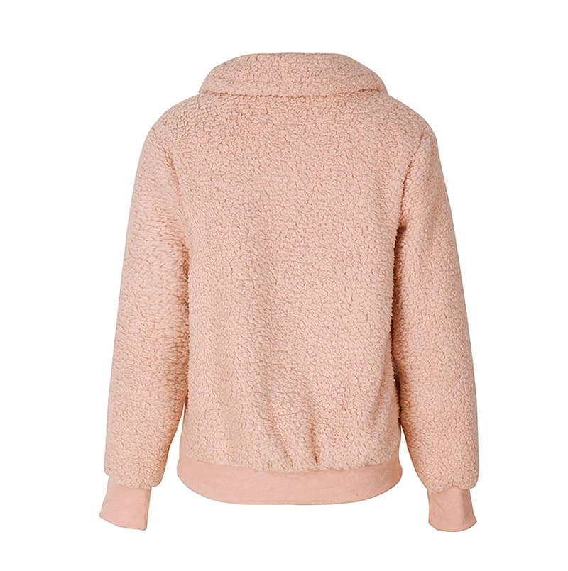 Fashion Hoodies and Sweatshirts Women Autumn Winter Warm Ladies Top Long Sleeve Plain Solid Casual Sweatshirt Streetwear
