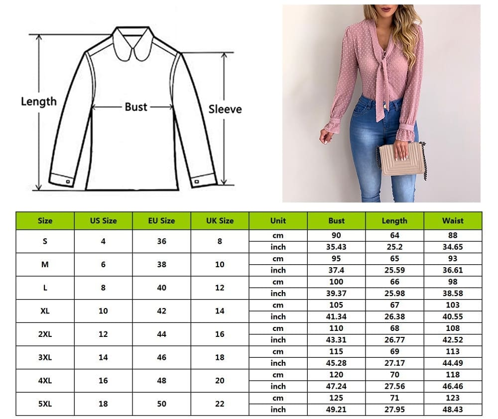 Chiffon Blouses Women 2019 Autumn Fashion Long Sleeve V-neck Blouse
