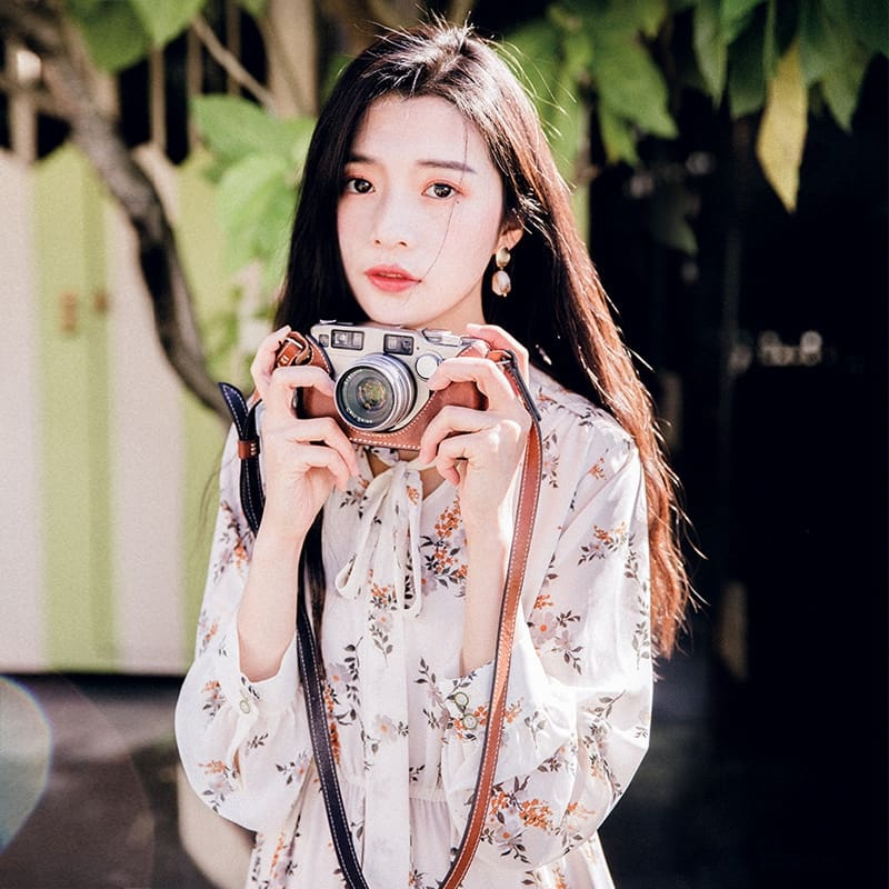 Fashion Korea Style Women Girl Boho Floral Long Dress Maxi Dress