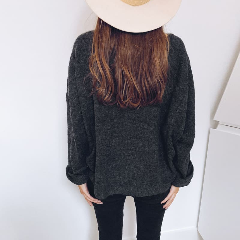 Women Casual Hoodie Shirt Ladies Loose Long Sleeve Pullover Blouse Basic Tops