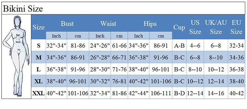 Hot Two-Pieces Womens High Waist Padded Bra Bikini Swimsuit Bandage Push-up High Waist Swimwear Set Bathing Suit Beachwear