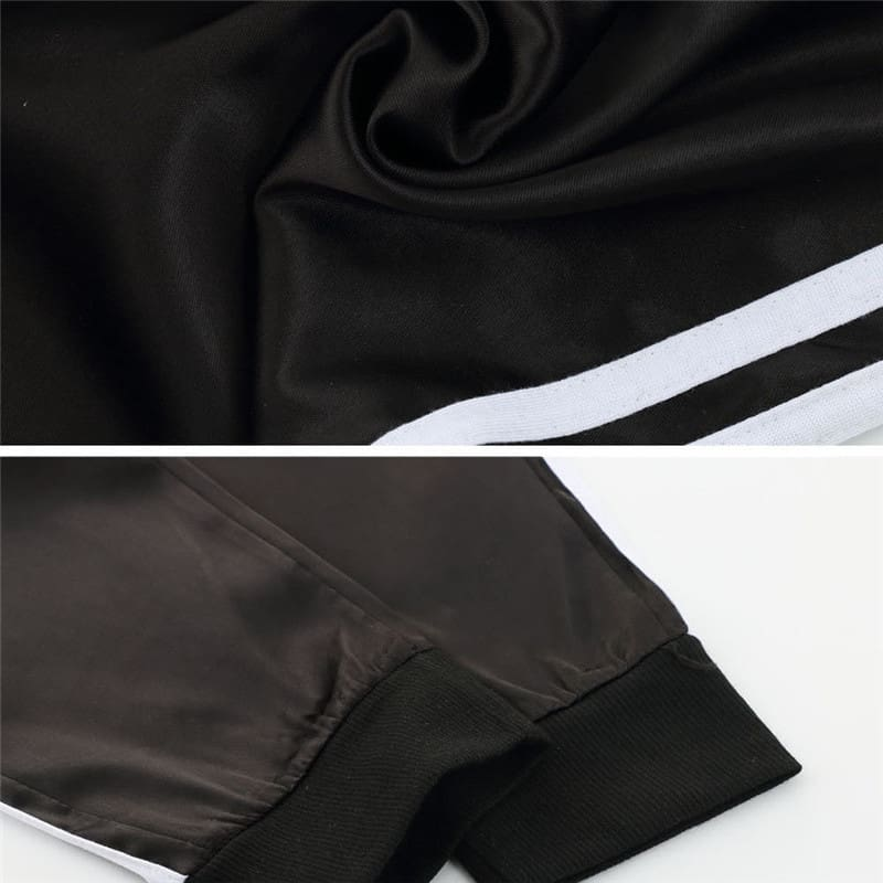 Casual Sport Pants Women Fahion Comfy Fitness Pants Running Gym Sport High Waist Striped Track Jogging Pants Trousers