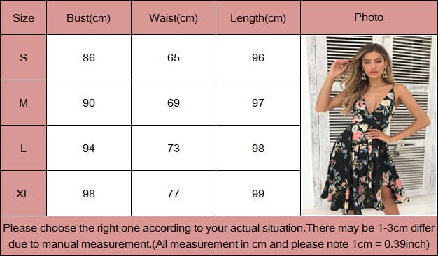 Boho Floral Sleevless Chiffon Dress Summer Party Ladies V-Neck Casual Beach Midi Dress Sundress