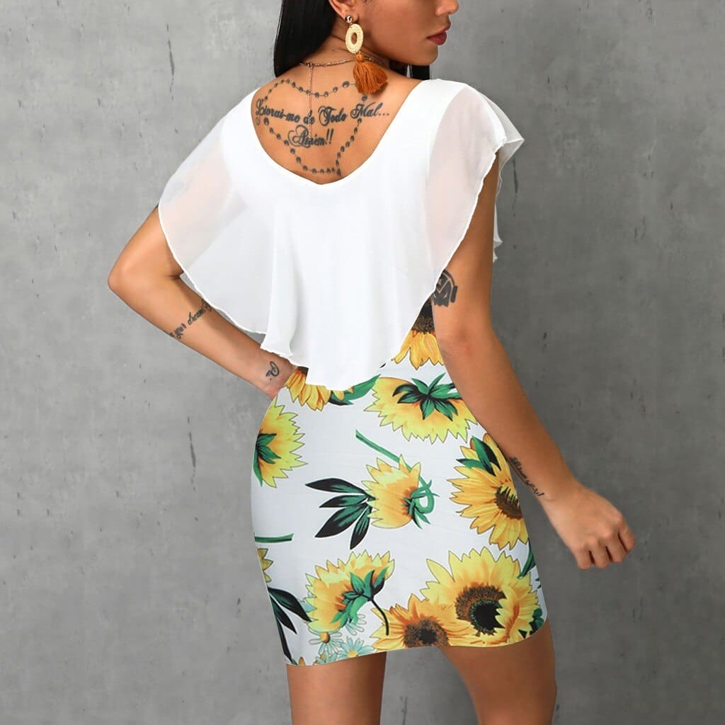 Womens summer dress fashion Sleeveless O-Neck women Vintage dresses