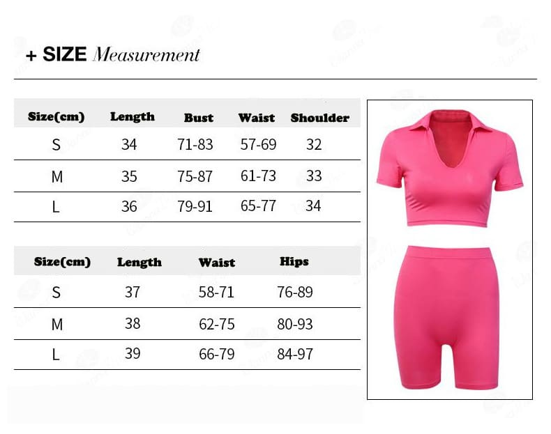 Fashion Women Sets Fashion Bodycon Shorts and Crop Top 2 pieces Sets Solid Casual Women Fitness Workout Outfits