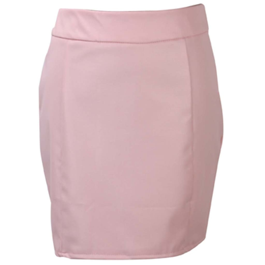 Women Ladies Bandage Leather Slim Skirt Women Clothes High Waist Pencil Bodycon Hip Short Mini Skirt Clubwear