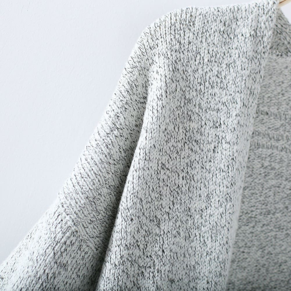 Women Autumn Cardigan Loose Sweater Long Sleeve Knitted Outerwear