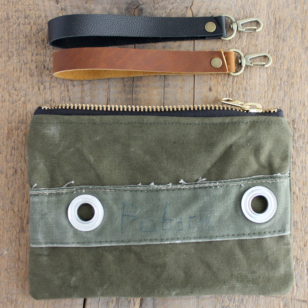SOLD OUT: Military Wristlet No. 08