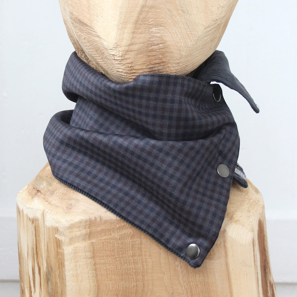 Snap Cowl Scarf No. 117