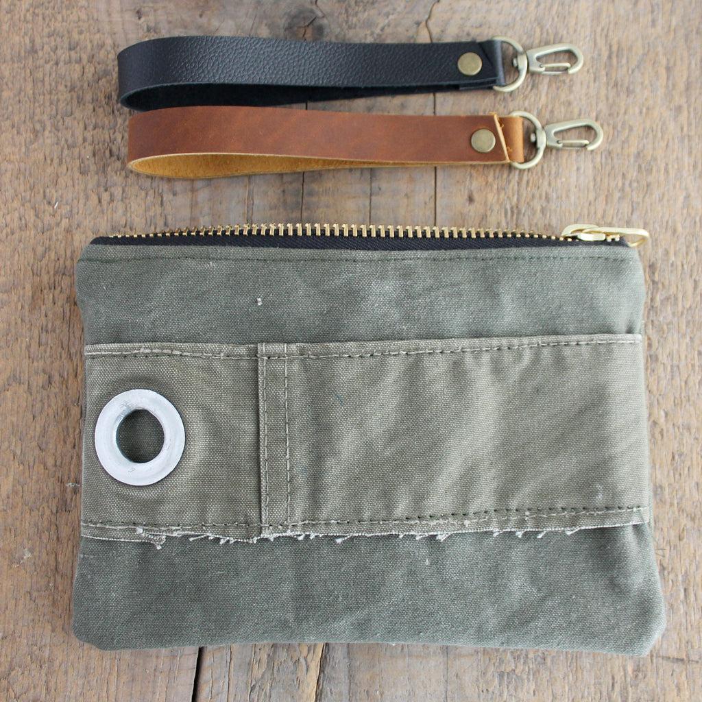 SOLD OUT: Military Wristlet No. 16
