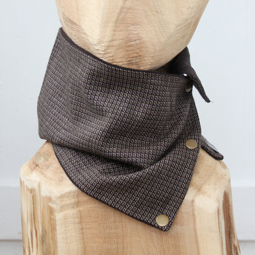 Snap Cowl Scarf No. 45