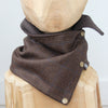 Snap Cowl Scarf No. 90