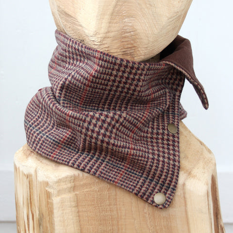 Snap Cowl Scarf No. 97