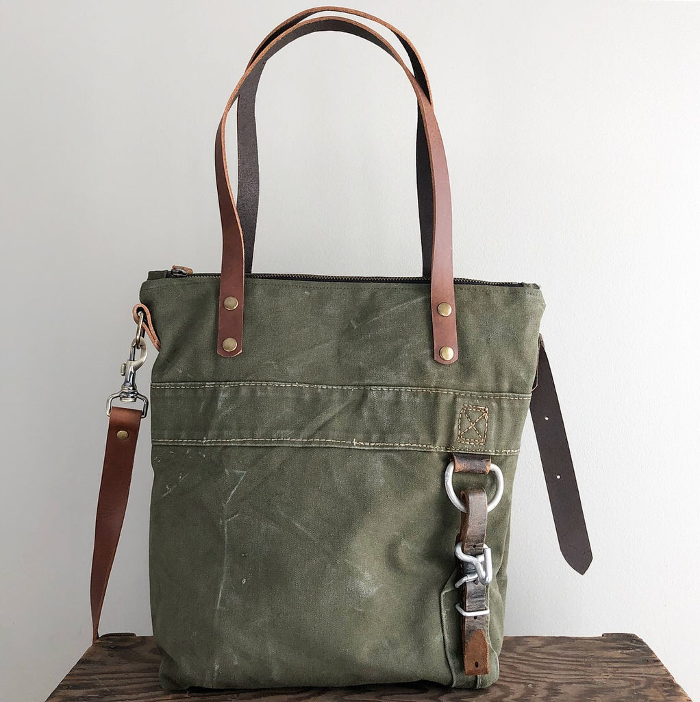 SOLD: Military Tote No. 25