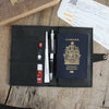 Passport Wallet: Soft Black