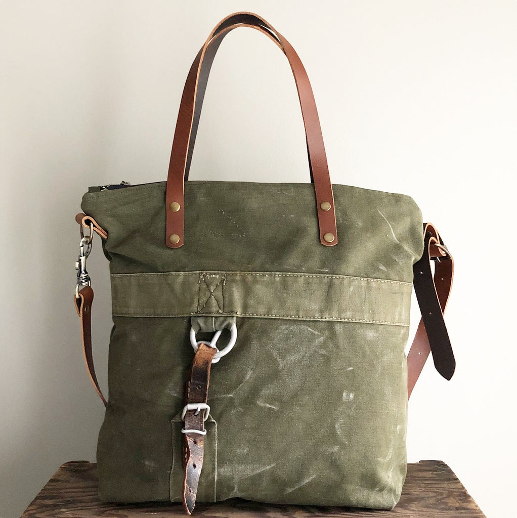 SOLD: Military Tote No. 27