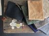 Waxed Canvas Coin Purse